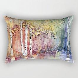 4 Season watercolor collection - summer Rectangular Pillow