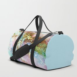 Opal and Gold Duffle Bag