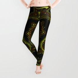 Solar Plexus Mandala Leggings