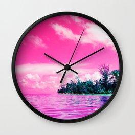 Luquillo Beach Wall Clock