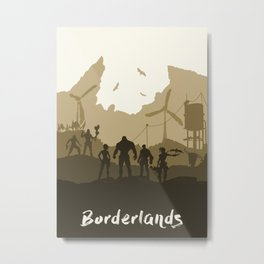 Borderlands Metal Print