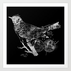 Bird Wanderlust Art Print