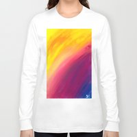 skyfall Long Sleeve T-shirts featuring Skyfall by Sierra Christy Art