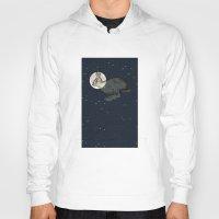 interstellar Hoodies featuring Interstellar by Shany Atzmon