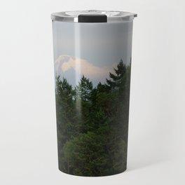 A glimpse at Mount Baker, WA Travel Mug