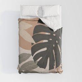 Abstract Tropical Art X Duvet Cover