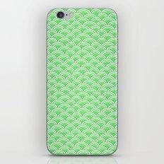 Green Mermaid Scales iPhone & iPod Skin