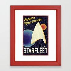 Star Trek: Join Starfleet Framed Art Print