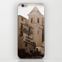High Noon Riomaggiori Sepia iPhone Skin