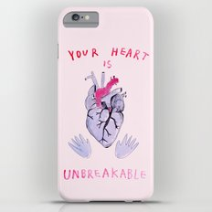 Your heart is unbreakable  Slim Case iPhone 6 Plus