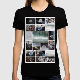 Simplistic Beauty Bubble Collage T-shirt