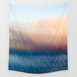 Sunset after the rain Wall Tapestry
