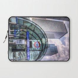 London Tube Station Laptop Sleeve