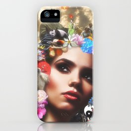 CHINESE HAIRSTYLE iPhone Case