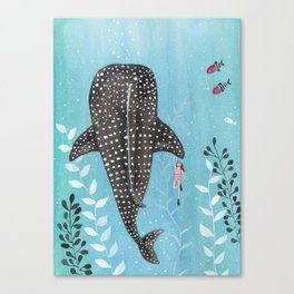 Whale shark! Canvas Print