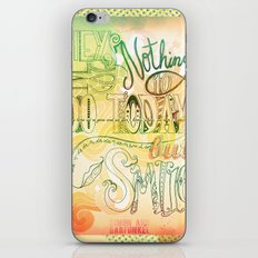 Nothing To Do Today But Smile iPhone & iPod Skin