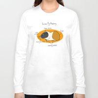 guinea pig Long Sleeve T-shirts featuring Guinea Pig Anatomy by mausekonig