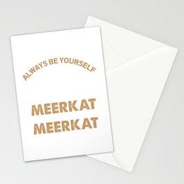 Meerkat design for Kids Stationery Cards
