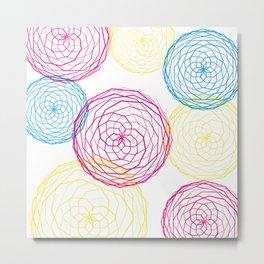 Spiro Blooms Metal Print