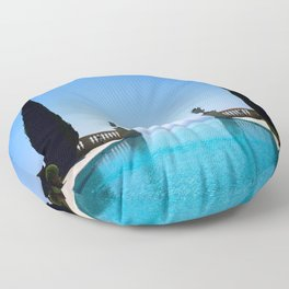 Endless French Riviera Floor Pillow