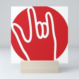 ROCK ON! Mini Art Print