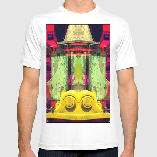 Industrial Abstract Twins T-shirt