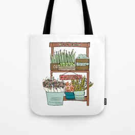 Mei's Farm Stand Tote Bag