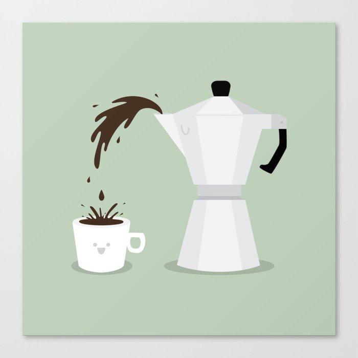 Espresso Time! Canvas Print