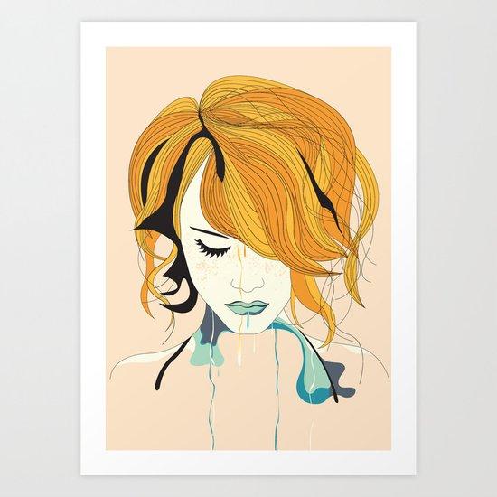Girl Two Art Print