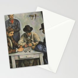 The Card Players Stationery Cards