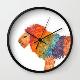 Rainbow Warrior: Lion Wall Clock