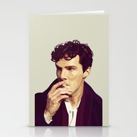 ben giles Stationery Cards featuring Ben by Grace Teaney Art