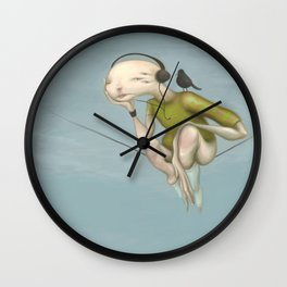 Up here with you Wall Clock