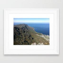 Table Mountain Framed Art Print