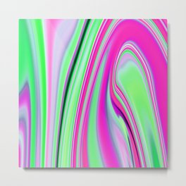 Abstract Fluid 8 Metal Print