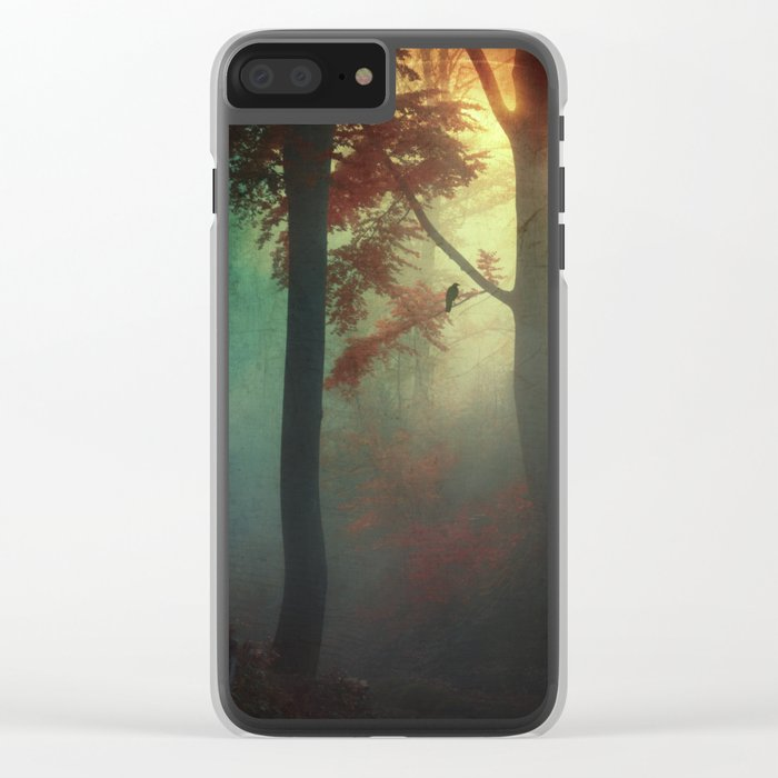 wAking liGht Clear iPhone Case