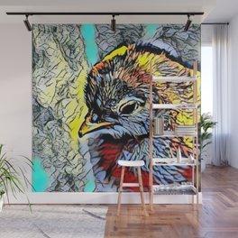Color Kick - Chick Wall Mural