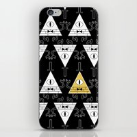 bill cipher iPhone & iPod Skins featuring Bill Cipher - Gravity Falls by BlacksSideshow