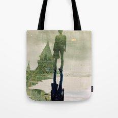 the fountain. Tote Bag