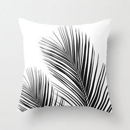 Tropical Palm Leaves #1 #botanical #decor #art #society6 Throw Pillow