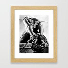 The Submissive Framed Art Print