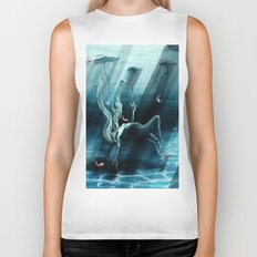 Dance of the Waterlily Biker Tank