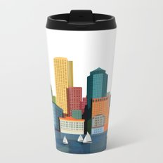 City Boston Metal Travel Mug