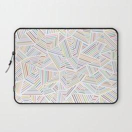 Abstraction Linear Rainbow Laptop Sleeve