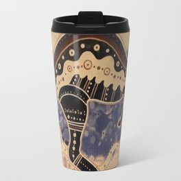 Kangaroo mural Travel Mug