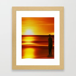 Gormley (Digital Art) Framed Art Print