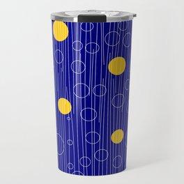 dots circle Travel Mug