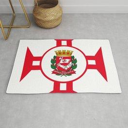 Flag of Sao Paolo -  Non ducor, duco Rug
