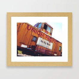 Union Pacific  Framed Art Print