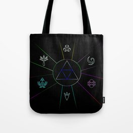 The Triforce Of Symbol Tote Bag